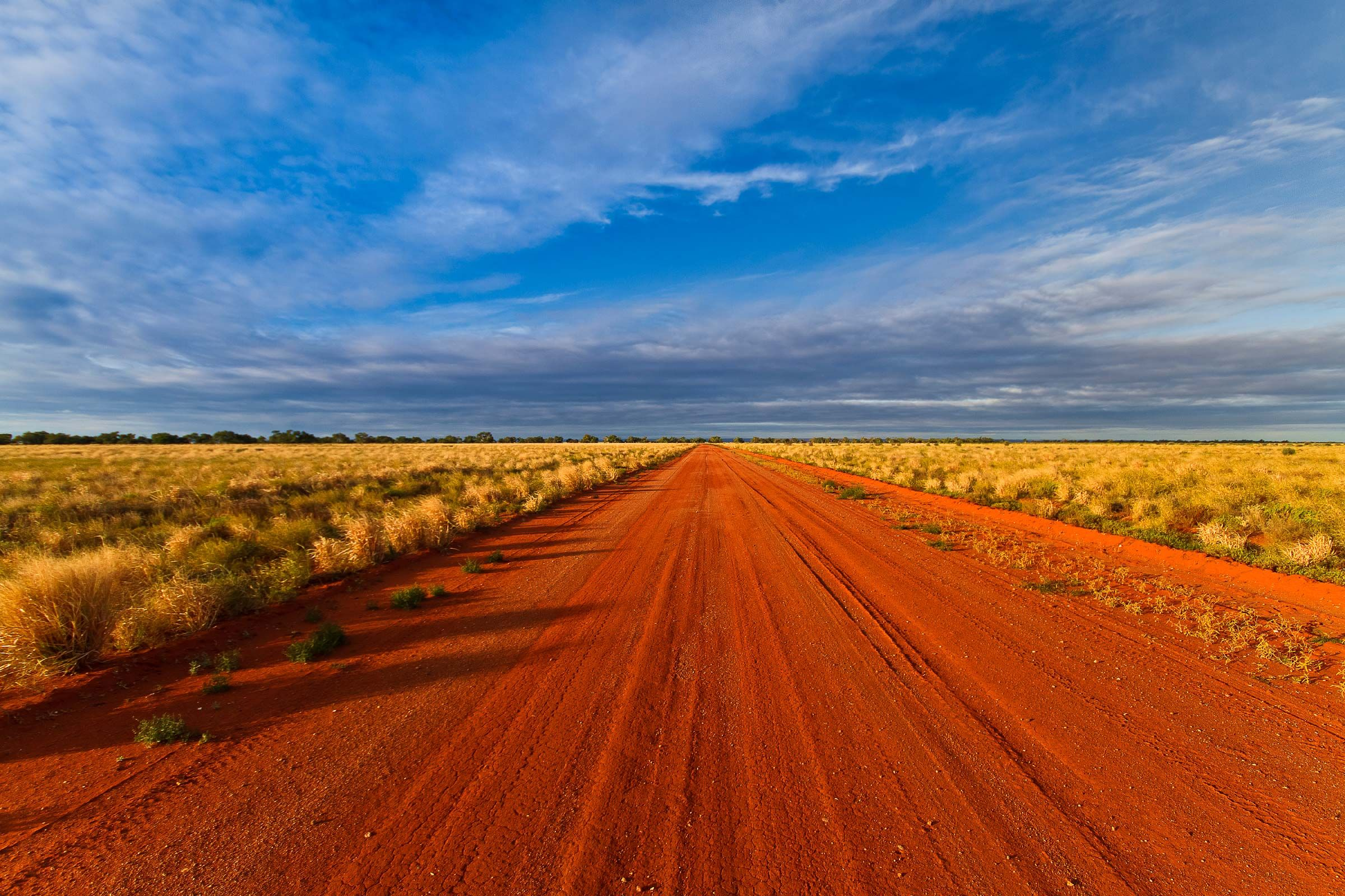 Australia Outback Red Road