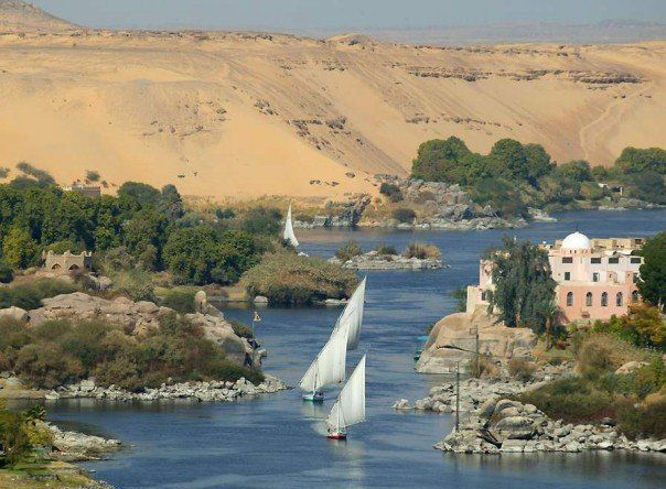 The River Nile in لمصر  Egypt