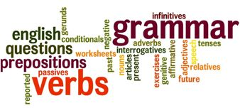 English Verbs Plurals Prepositions