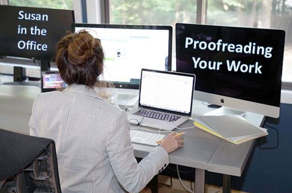 Proofreading Your Work
