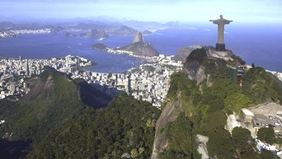 Statue of Jesus in Brazil