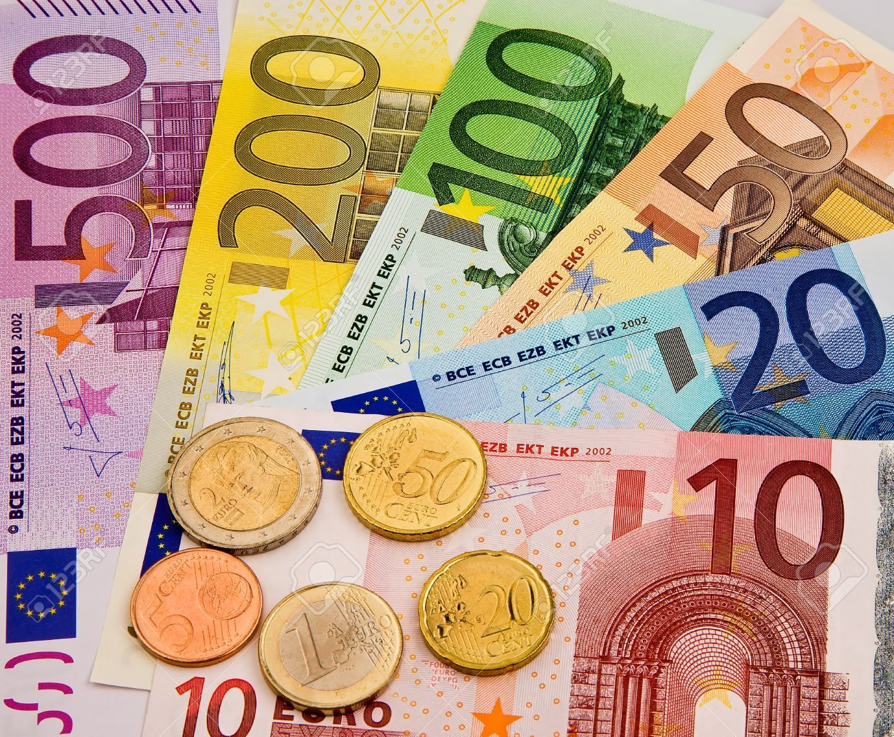 A Selection of Euro Money