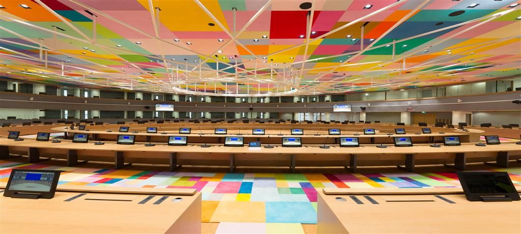 Inside the European Union Parliament