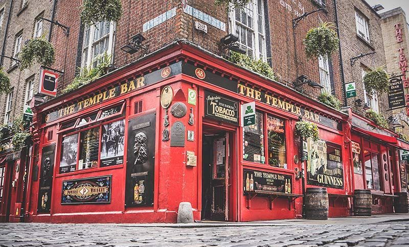 Proofreading a Tourism Manuscript for the Temple Bar in Eire