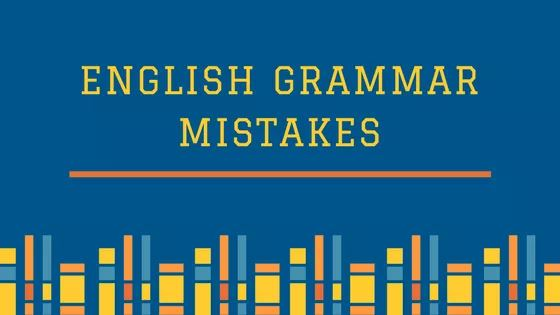 English Writing Grammar Mistakes