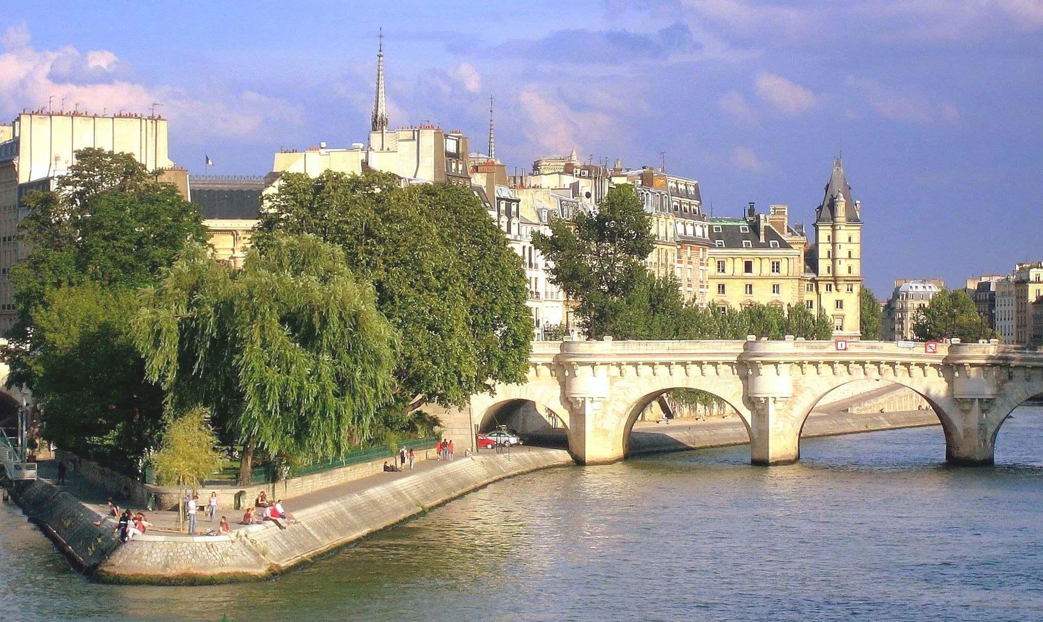 The River Seine in Paris France