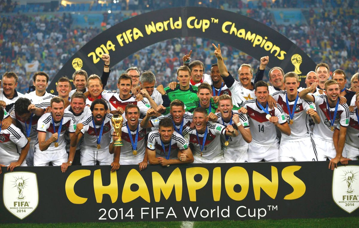 Germany 2014 FIFA World Cup Champions
