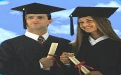 Students Getting a University Degree