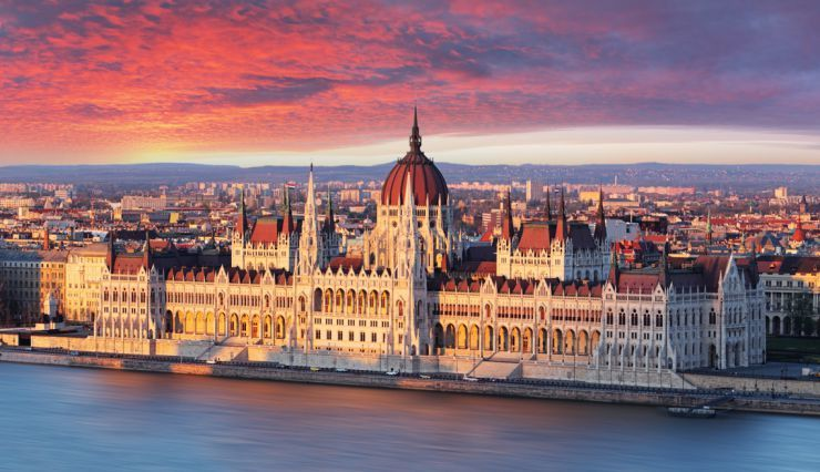 Houses of Parliament in Hungary
