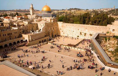 The Western Wall in Israel