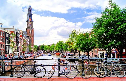 Netherlands Bicycles & Canal