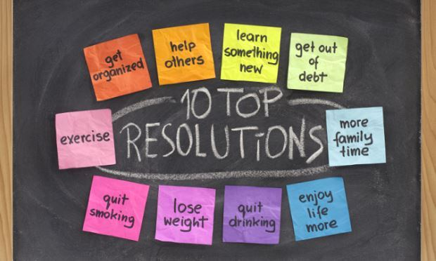 TOP 10 RESOLUTIONS FOR THE NEW YEAR