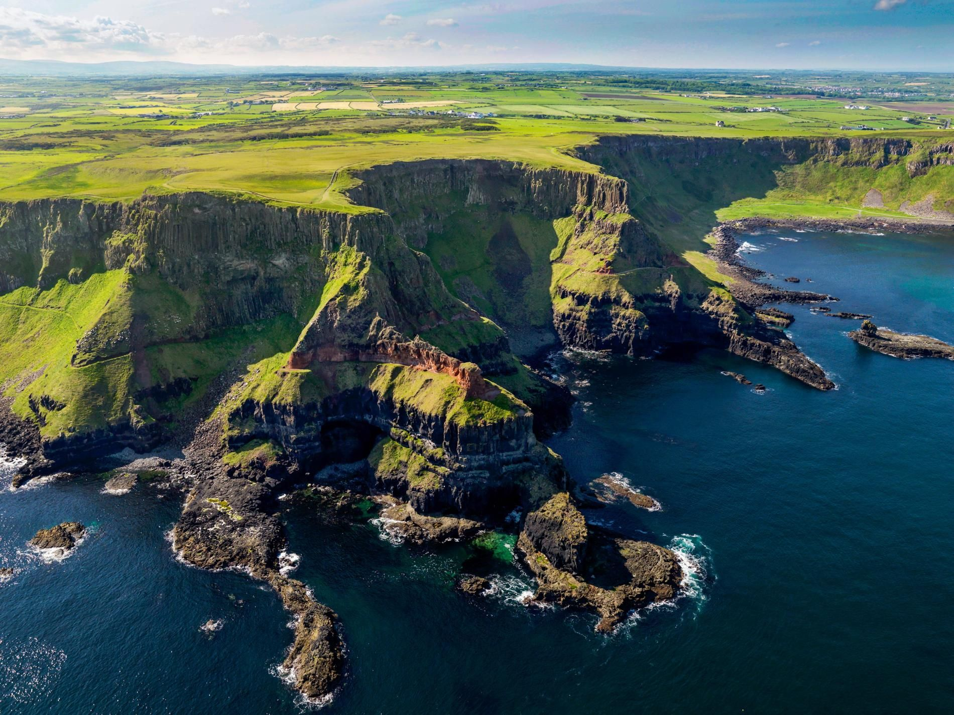 Coastal Scenery in Northern Ireland