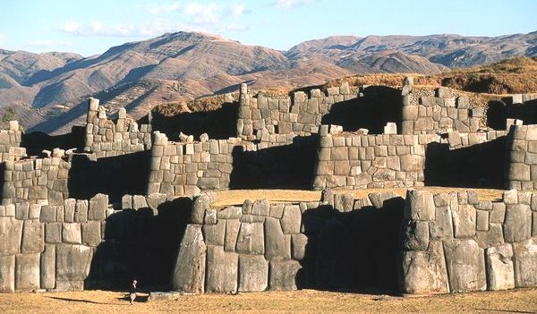 Ancient Stone Walls near Cusco Perú