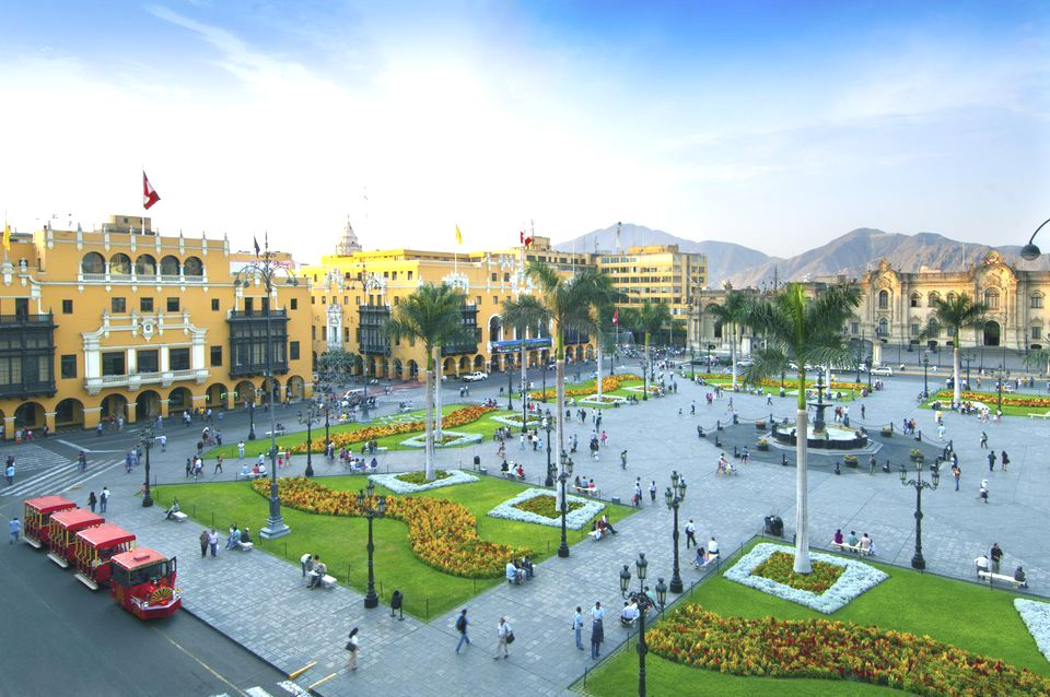 City Square in Lima Perú