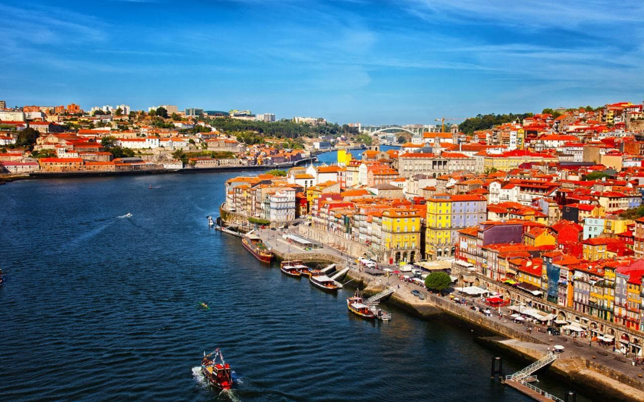 Fishing Harbour and Tourist Resort in Portugal