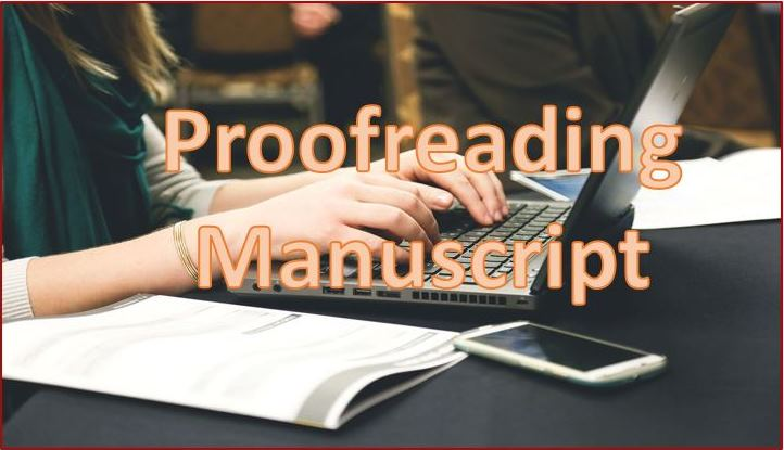 Proofreading a Manuscript