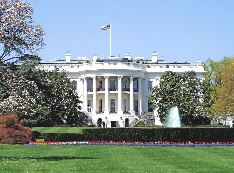 The White House in the USA