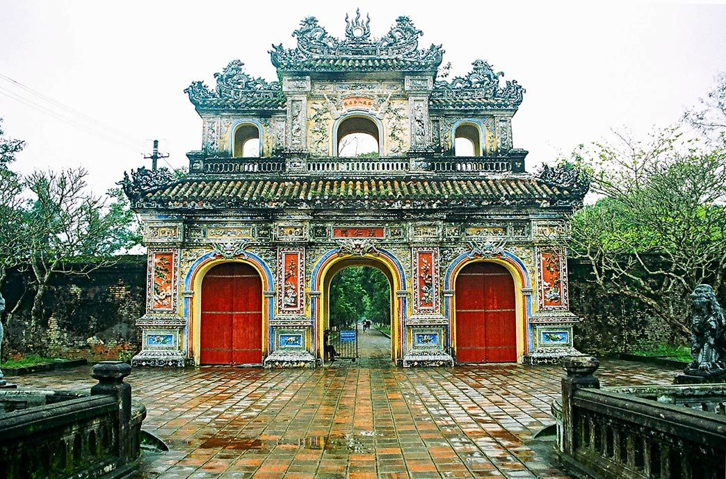 Entrance to a Holy Park in Việt Nam
